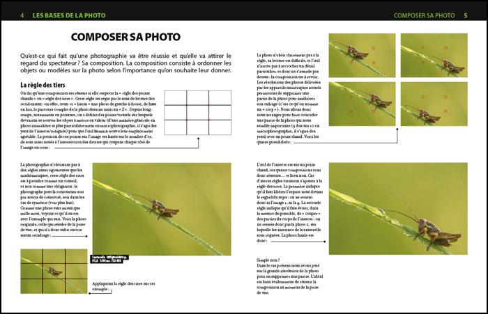 Livres sur la macrophotographie : la composition